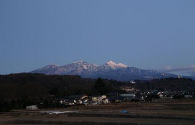 夜明けの八ヶ岳