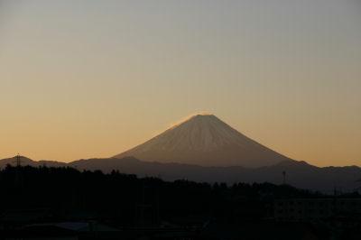 富士山(元日夜明け)