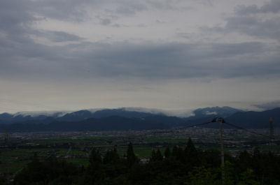 山荘からの眺望
