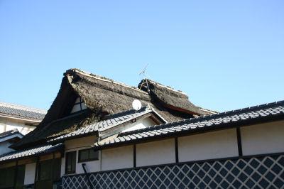 かやぶき屋根2
