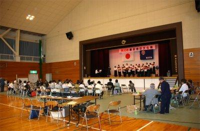 文化祭-合唱