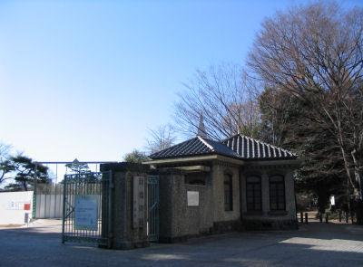 新宿御苑大木戸門