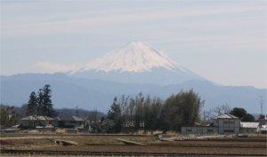 今日の富士(3月17日)