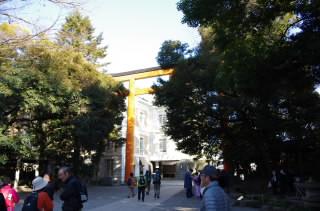21氷川神社鳥居