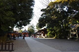 24氷川神社全景