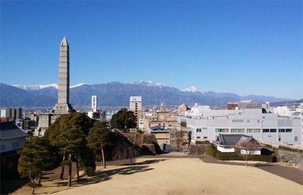 OB会舞鶴城公園の展望