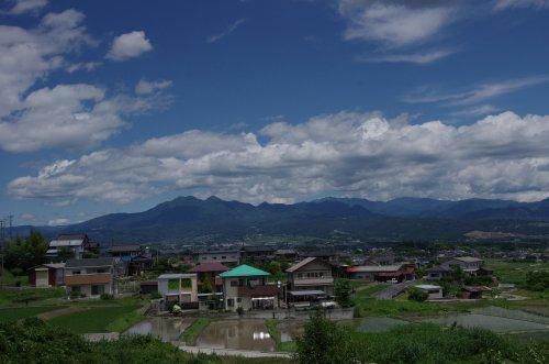 20茅が岳遠景