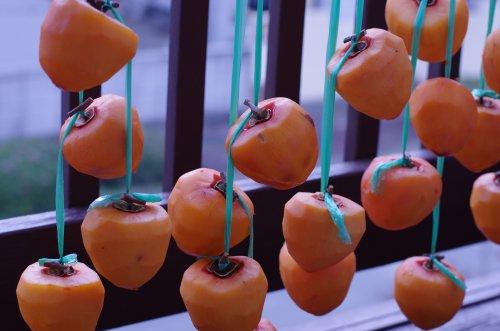 枯露柿作り