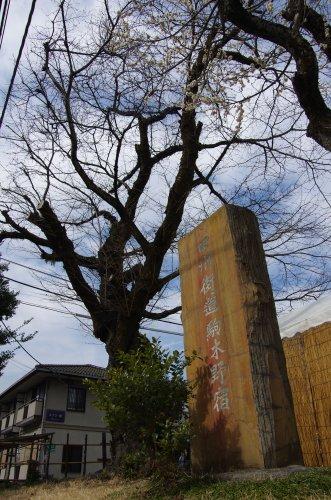 13駒木野宿石碑