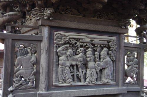 02諏訪神社彫刻