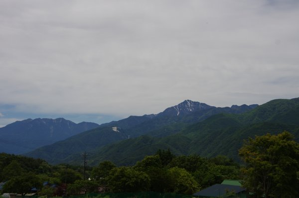 09甲斐駒と鳳凰三山