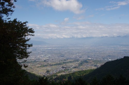 15_展望台より甲府盆地を望む
