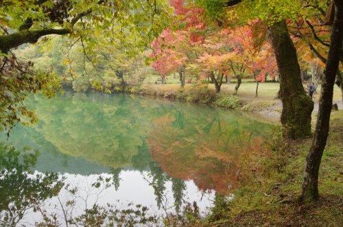 4_湖面に映る